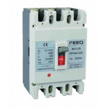 DC Circuit Breaker MCCB 100A, 150A and 200A 3P